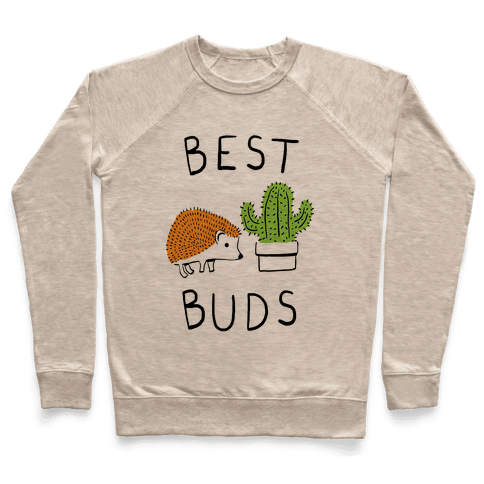Best Buds Hedgehog Cactus Pullover