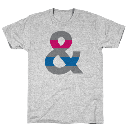 Androgynous Ampersand Mens T-Shirt