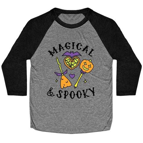 Magical & Spooky Baseball Tee