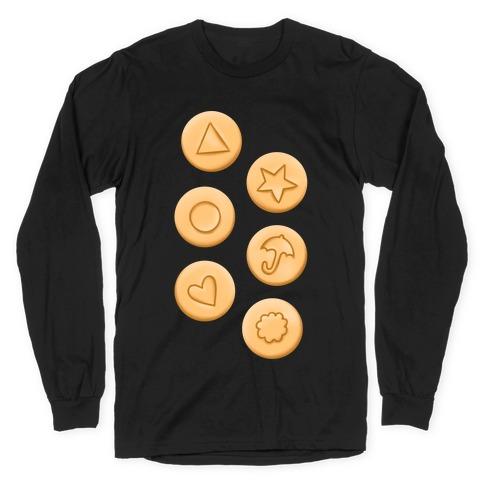 Dalgona Cookies Long Sleeve T-Shirt