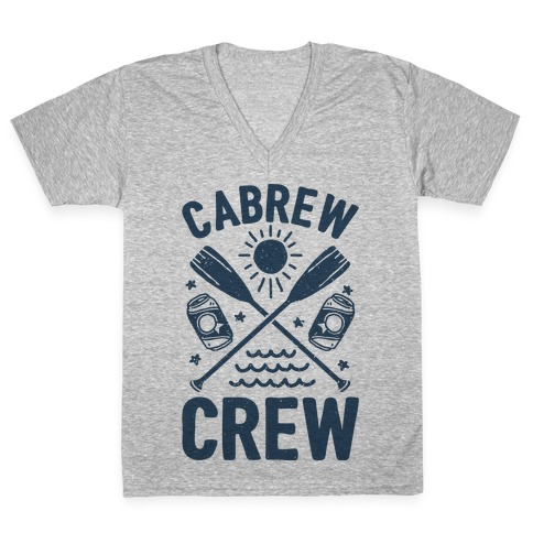 Cabrew Crew V-Neck Tee Shirt