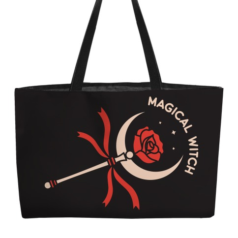 Magical Witch Wand Weekender Tote