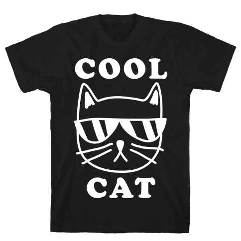 Cool Cat Mens T-Shirt
