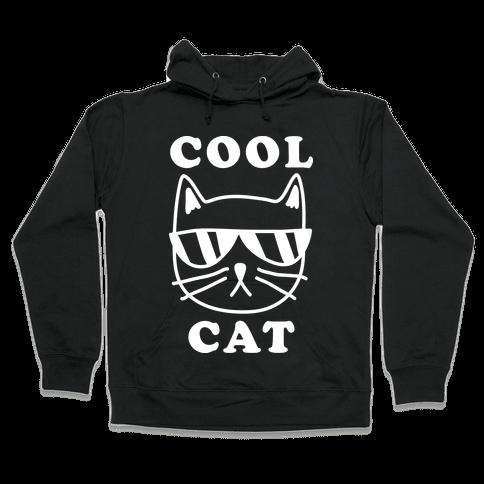 Cool Cat Hooded Sweatshirt