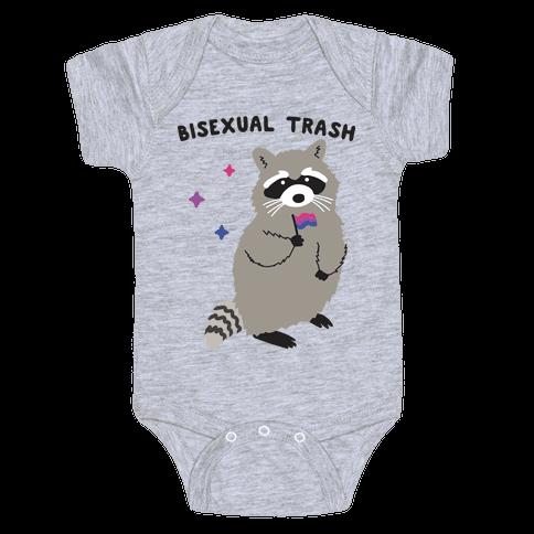 Bisexual Trash Raccoon Baby One-Piece