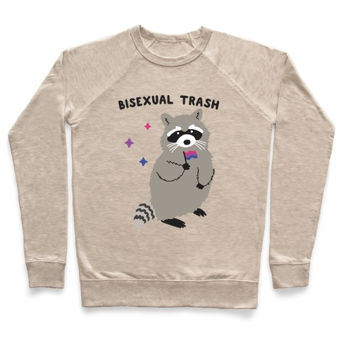 Bisexual Trash Raccoon Pullover