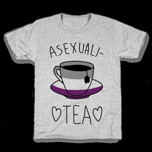 Asexuali-TEA Kids T-Shirt