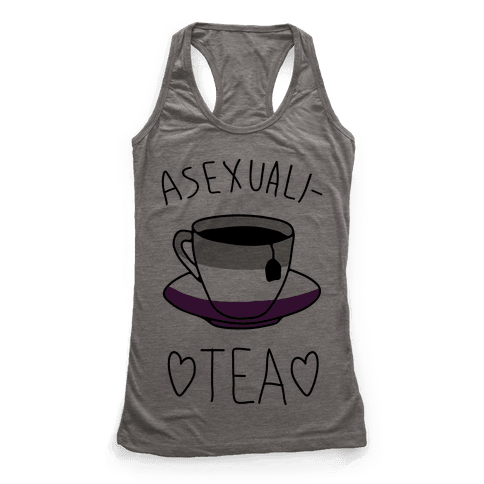 Asexuali-TEA Racerback Tank Top