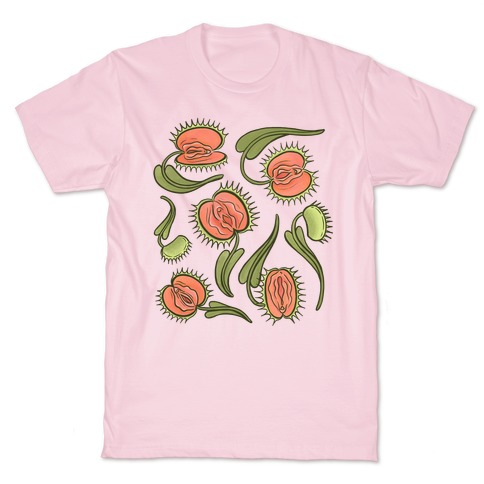 Venus Flytrap Vulvas T-Shirt