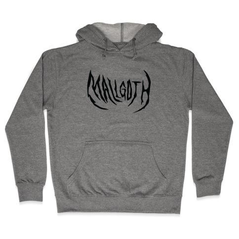Mall Goth Hooded Sweatshirt