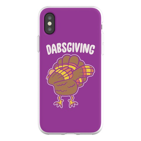 Dabsgiving Parody Phone Flexi-Case