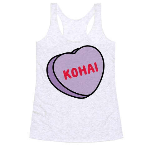 Kohai Candy Heart Racerback Tank Top