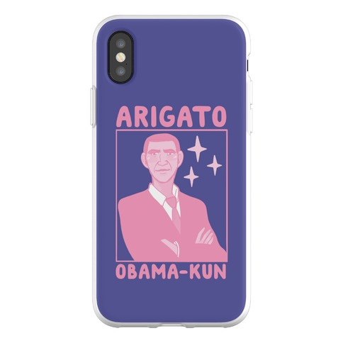 Arigato, Obama-kun Phone Flexi-Case