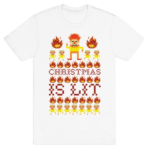 Christmas Is Lit Heat Miser T-Shirt