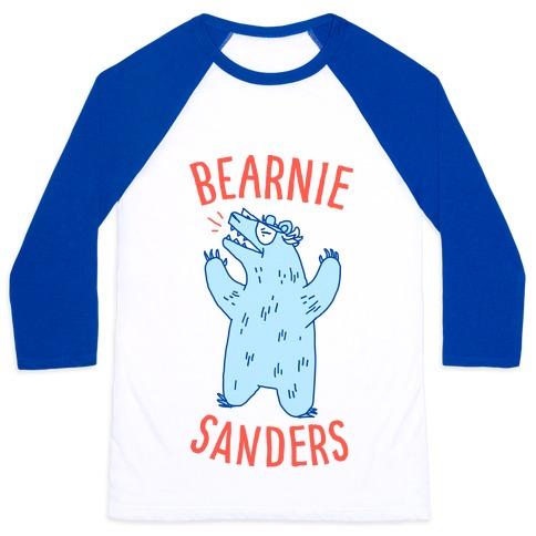 Bearnie Sanders Baseball Tee
