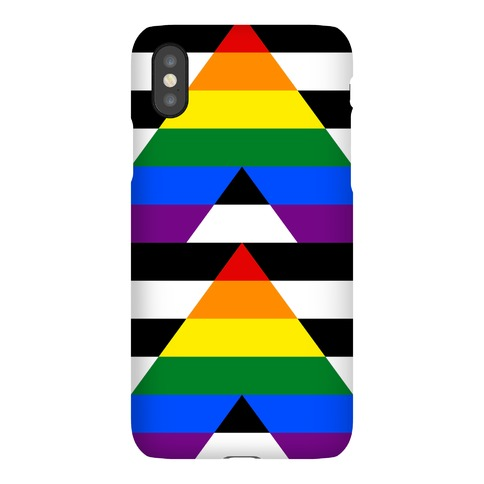 Ally Pride Flag Phone Case