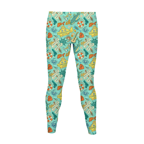 Life Aquatic Pattern Women's Legging