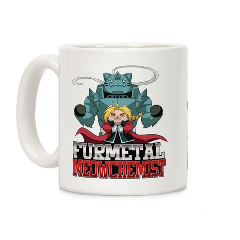 Furmetal Meowchemist Coffee Mug