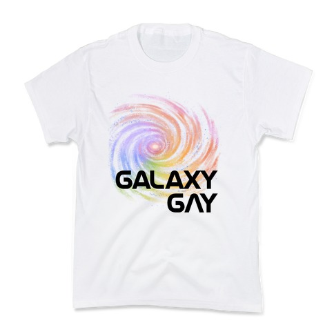 Galaxy Gay Kids T-Shirt