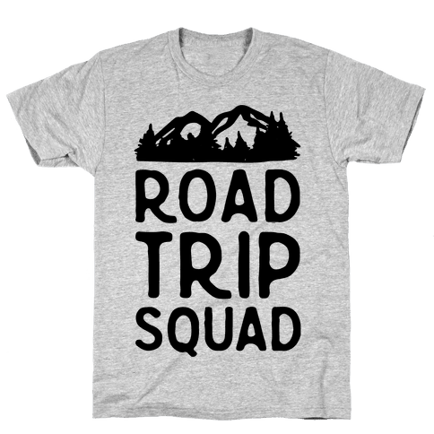 Road Trip Squad Mens T-Shirt