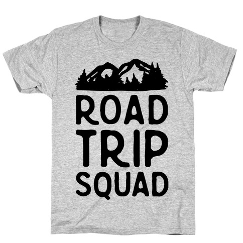 Road Trip Squad Mens T-Shirt