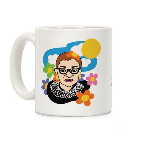 RBG Flower Power Coffee Mug