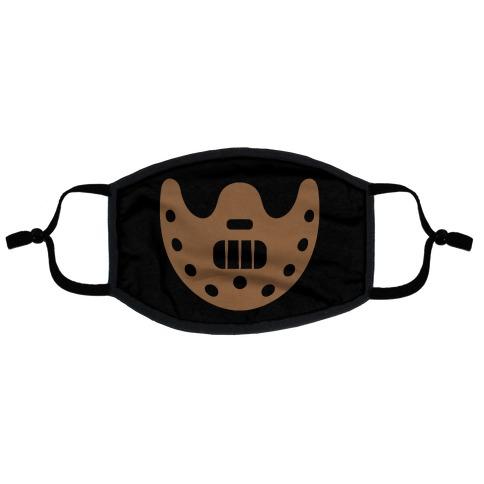 Cannibal Villain Mask Parody Flat Face Mask