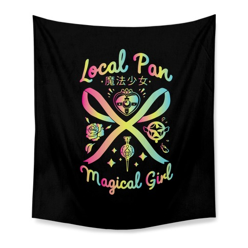Local Pan Magical Girl Tapestry