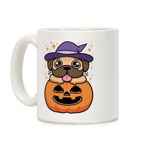 Halloween Pug Coffee Mug