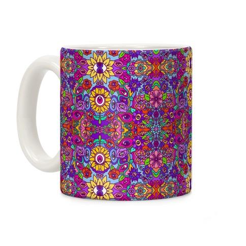 The Flowers Have Eyes Coffee Mug