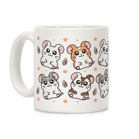 Cute Hamster Pattern Coffee Mug