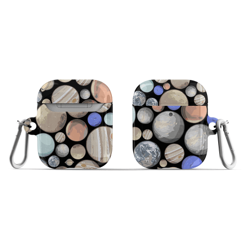 Planets Pattern AirPod Case