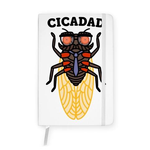 CicaDad Dad Cicada Notebook