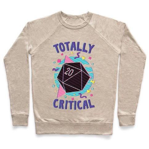 Totally Critical Pullover