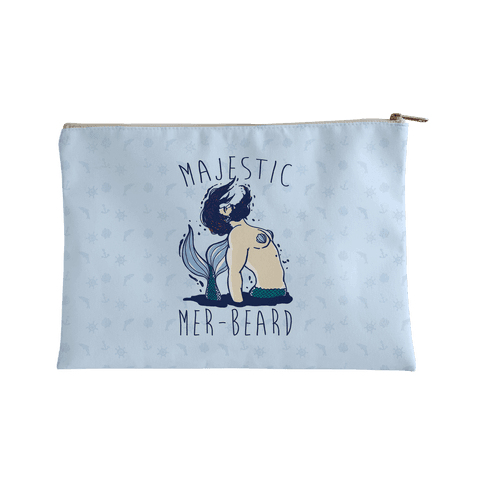 Majestic Mer-beard Accessory Bag