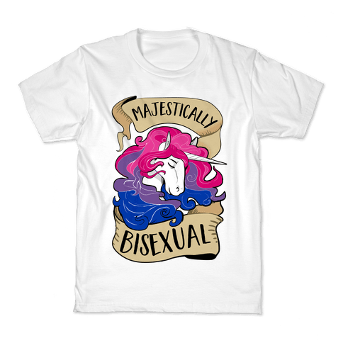 Majestically Bisexual Kids T-Shirt