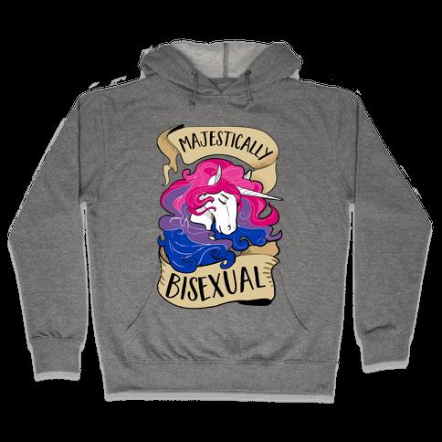 Majestically Bisexual Hooded Sweatshirt