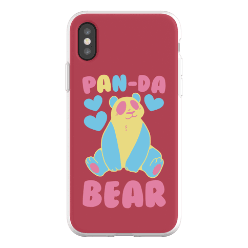 Pan-Da Bear Phone Flexi-Case