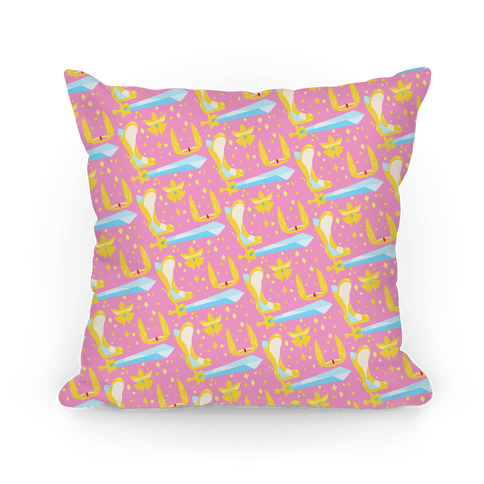 It's Dangerous To Go Alone Take These She-Ra Parody Pillow