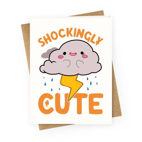 Shockingly Cute Greeting Card