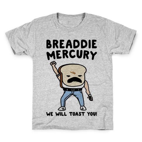 Breaddie Mercury Parody Kids T-Shirt
