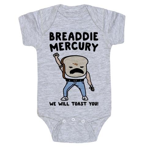 Breaddie Mercury Parody Baby Onesy