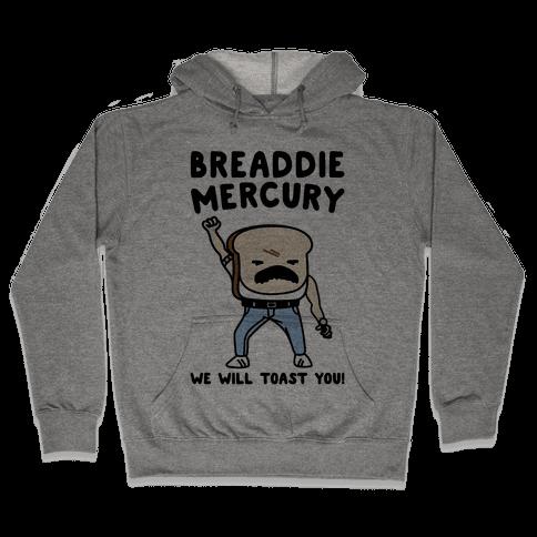 Breaddie Mercury Parody Hooded Sweatshirt