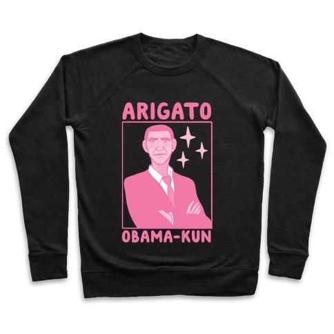 Arigato, Obama-kun Pullover