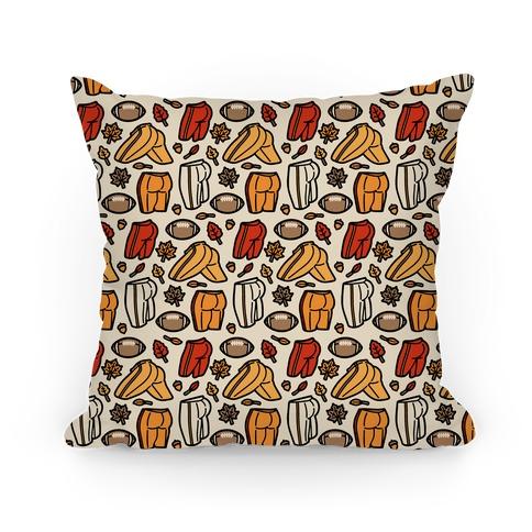 Fall Football Butts  Pillow