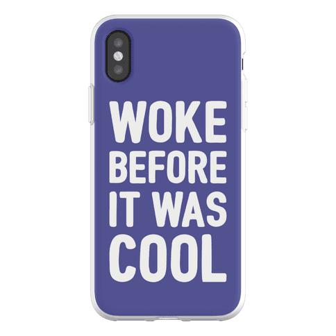 Woke Before It Was Cool Phone Flexi-Case