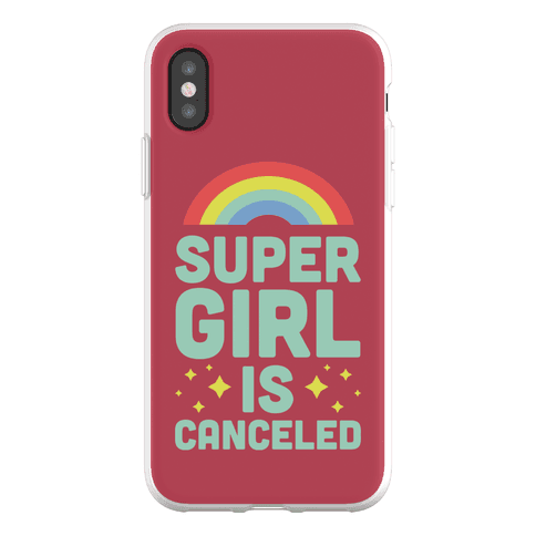 Supergirl is Canceled Phone Flexi-Case