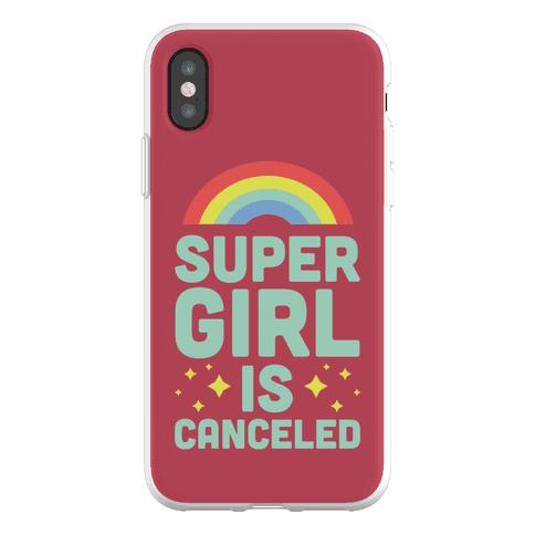Supergirl is Canceled Phone Flexi-Case