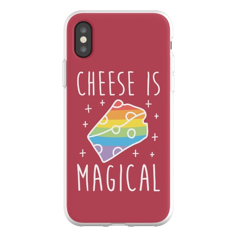 Cheese Is Magical Phone Flexi-Case