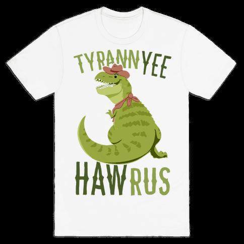 TyrannYEE-HAWrus Mens/Unisex T-Shirt